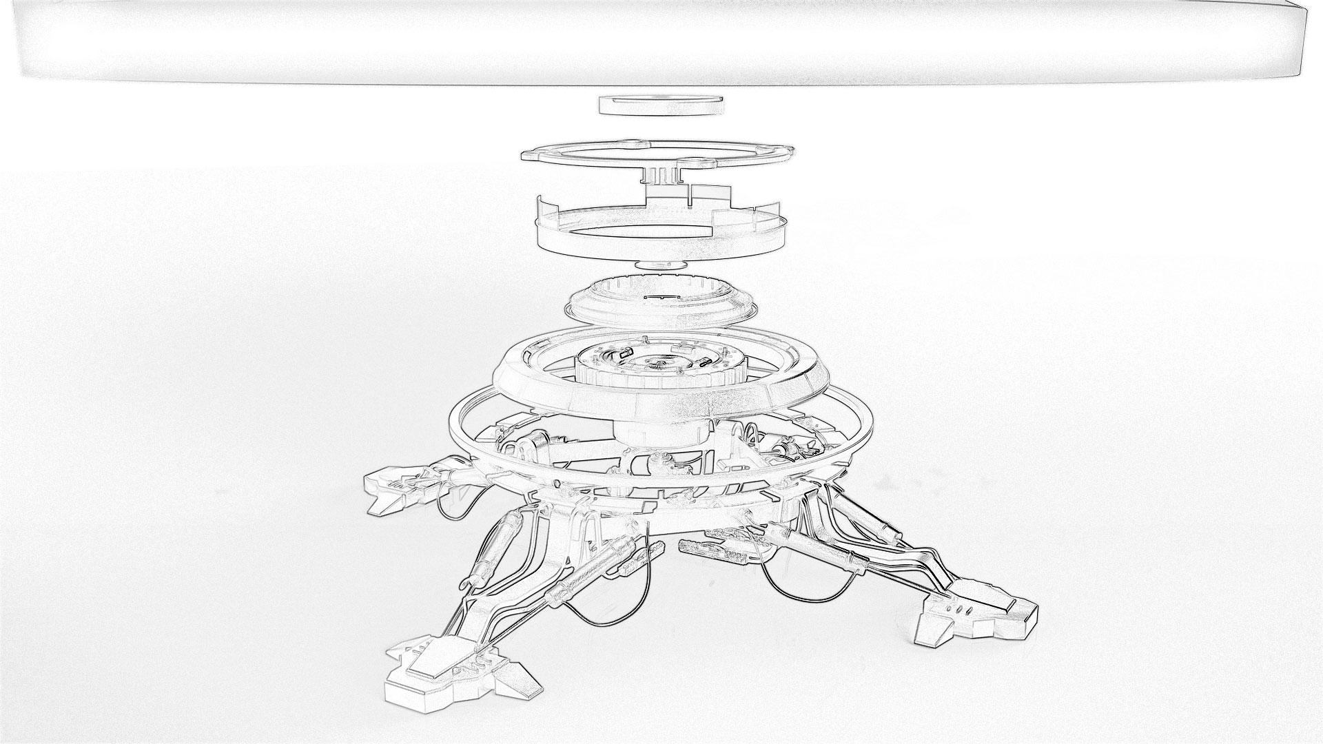 Infinite Cube - Machinery Sketch | Soul Calc